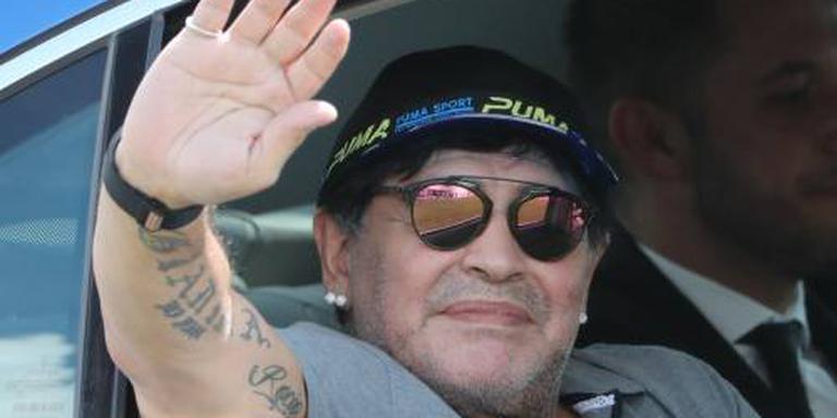 Maradona voorzitter club in Wit-Rusland