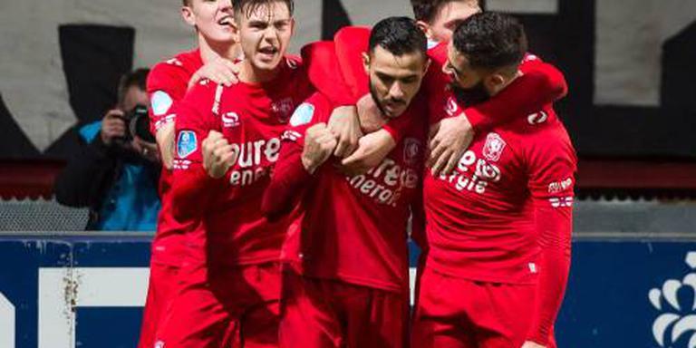 FC Twente met Assaidi tegen Zwolle
