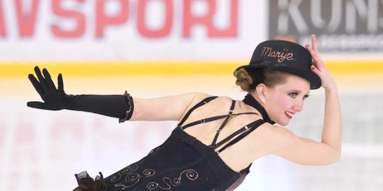 Kunstschaatster Marije Plat naar Disney on Ice. FOTO KIEK ONS