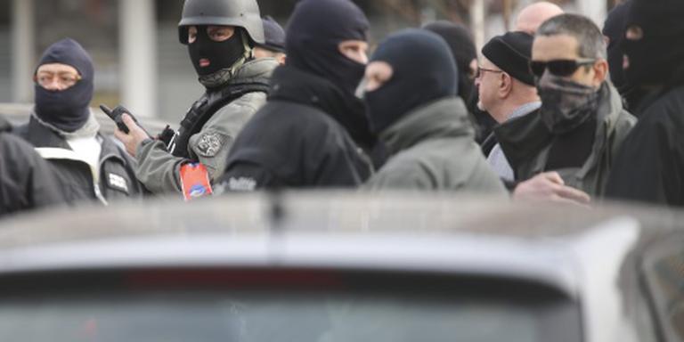 'Schutters Brussel verschanst in woning'