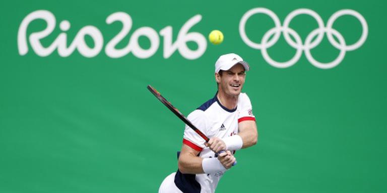 Murray naar halve finale olympisch toernooi
