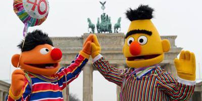Sesamstraat ontkent homorelatie Bert en Ernie