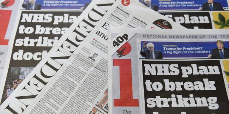 The Independent verdwijnt uit krantenkiosk