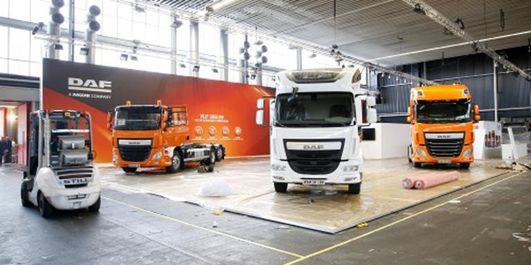 'Recordboetes voor Europese truckmakers'