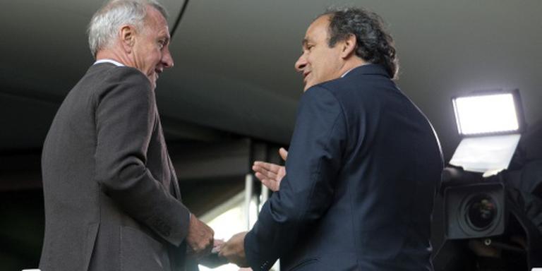 Platini: Cruijff beste speler aller tijden