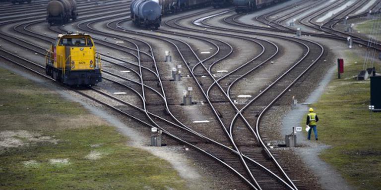 Meer goederen over spoor vervoerd