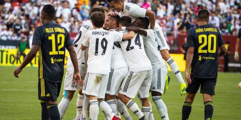 Real Madrid verslaat Juventus in VS