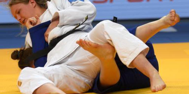 Zilver voor judoka Van Dijke in Boedapest