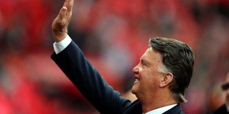 Van Gaal weg bij Manchester United