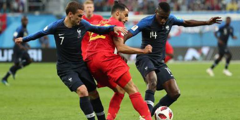 Frankrijk stuit opmars België op WK
