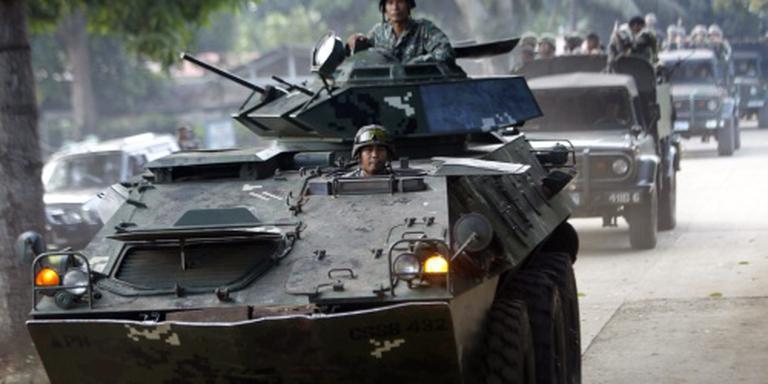 Bloedige strijd met Filipijnse extremisten