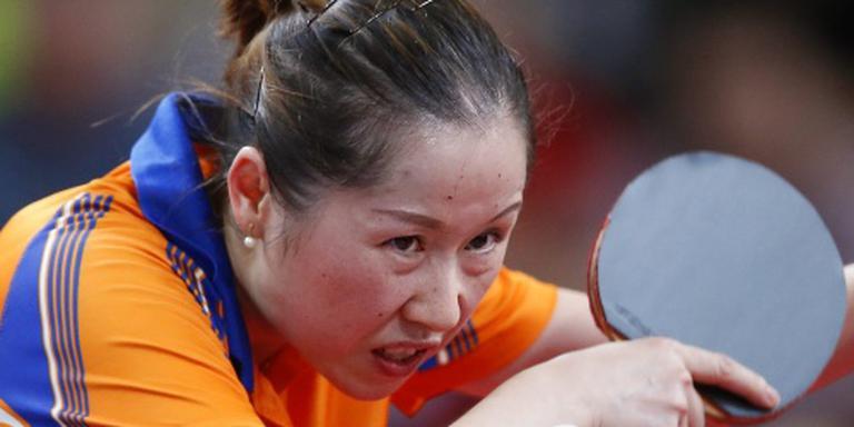 Tafeltennisster Jie halve finalist in Korea
