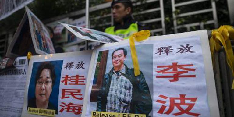 EU maant China Zweedse uitgever vrij te laten