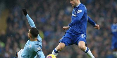 Manchester City verslaat Everton