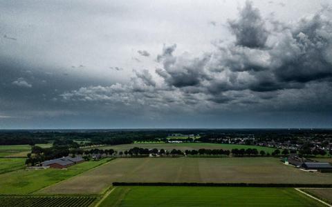 Onweersbuien verdrijven ergste hitte