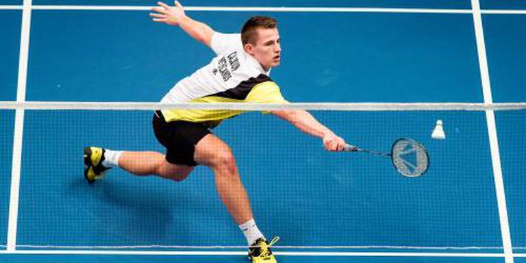 Caljouw onderuit in eerste ronde WK badminton