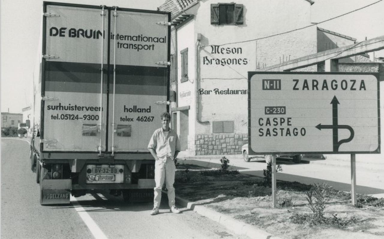 Sipke Visser onderweg in Spanje.