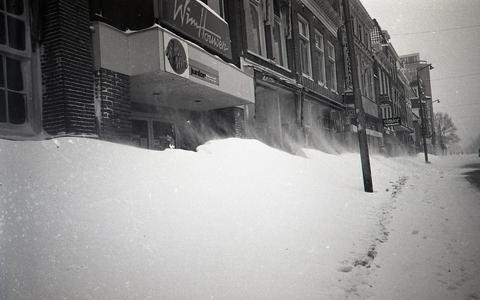 Kranten bezorgen door de sneeuw: waarom dat maandagochtend niet gebeurde