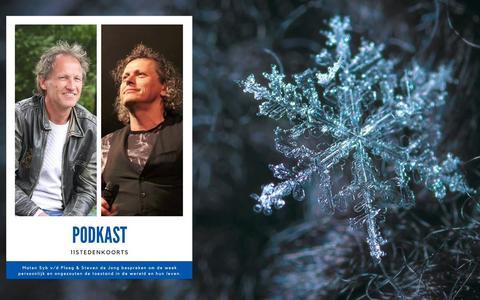 Syb van der Ploeg en Steven de Jong beginnen PodKast en in de eerste aflevering voorspelde Syb direct al dat hij de Elfstedentocht zou schaatsen