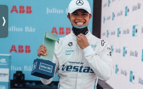Pole position Nyck de Vries bij start Formule E-seizoen