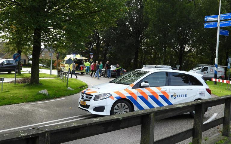 Fietser gewond bij ongeval in Berltsum.