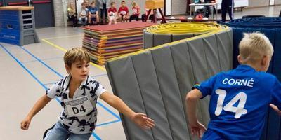 Corné Bakker was succesvol in de voorrondes van het Fries Kampioenschap Tikkertje in Franeker. FOTO HOGE NOORDEN . JAAP SCHAAF