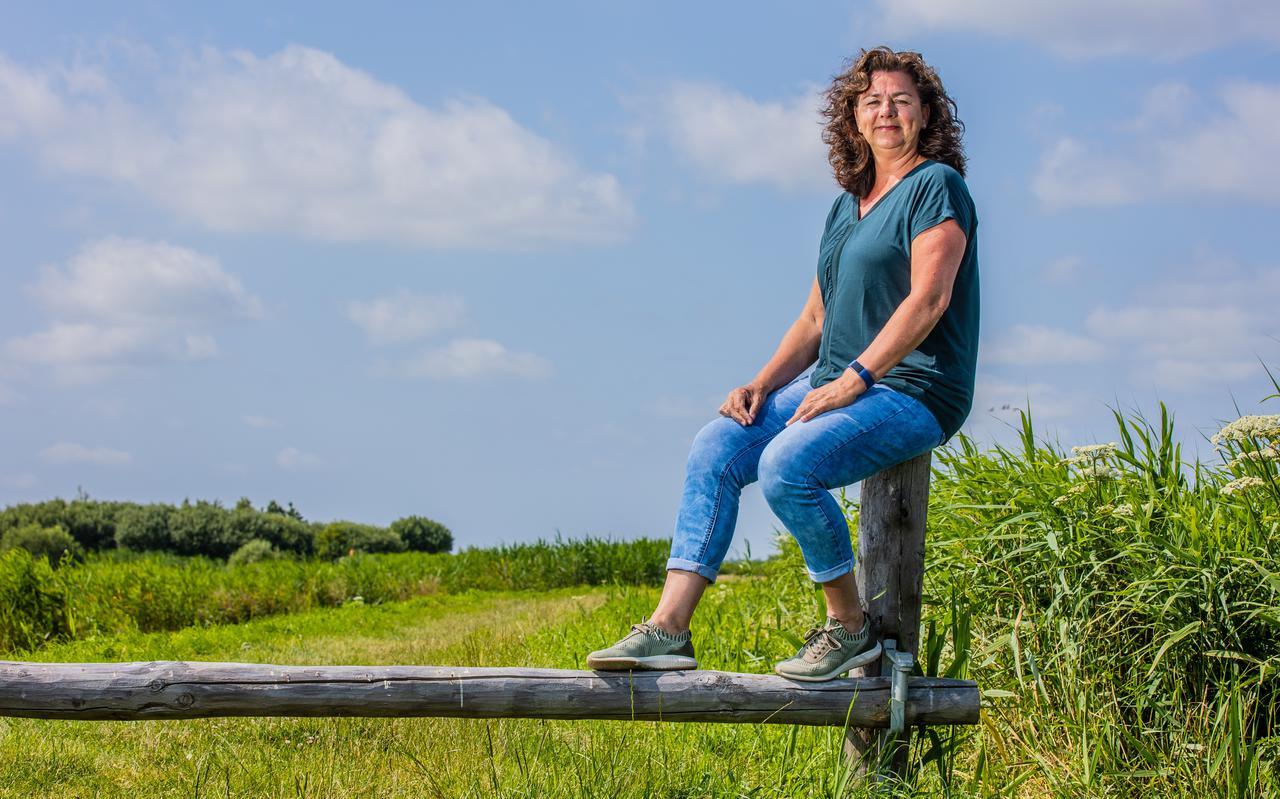 Leefstijlcoach Ellen van der Veen: ,,Van de volwassen Friezen heeft 50 procent overgewicht. We kunnen nog heel veel mensen helpen.''