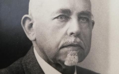 Theoloog Oepke Noordmans (1871- 1956).