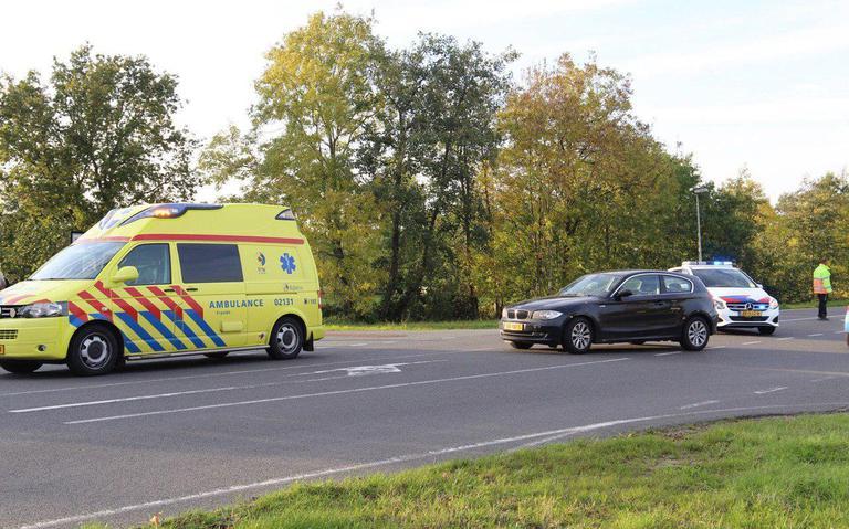 Fietser gewond bij aanrijding in Burgum.