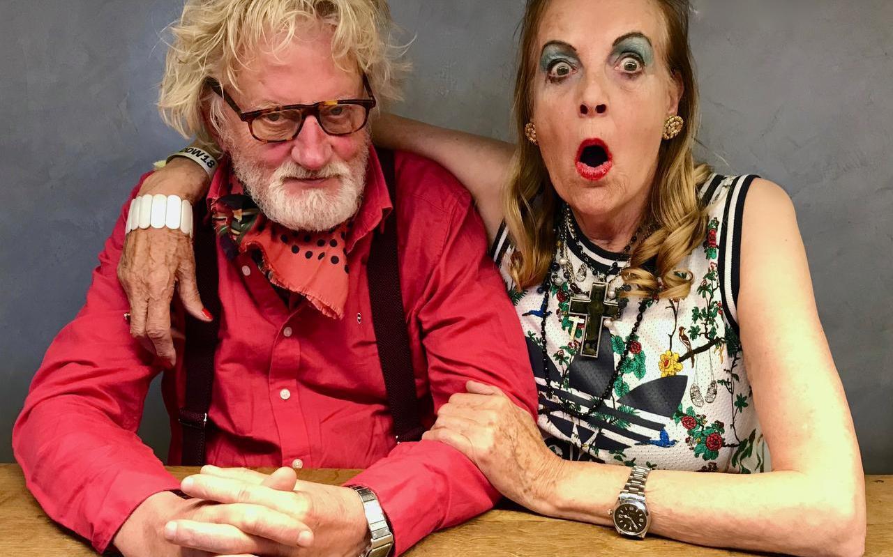 Frans Andringa en Boukje van der Werff, gefotografeerd door dochter Elle Ford.