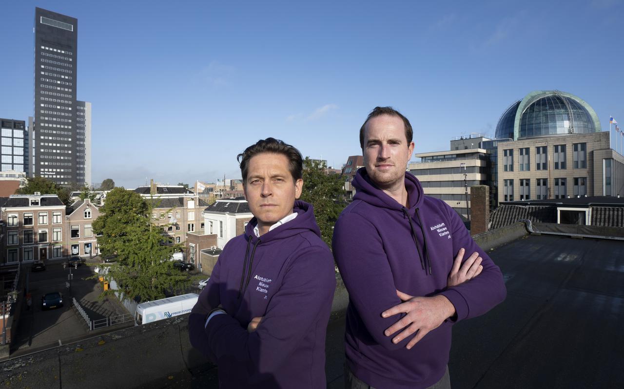 Daan Verhorst en Vincent Walstra werkten samen aan start-up Ayold maar zagen door de coronacrisis hun plannen sneven. Met de lessen van Ayold zijn ze een nieuw bedrijf begonnen: alstublieftnieuweklanten.nl.