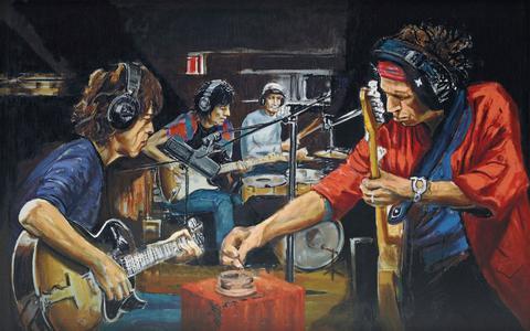 The Rolling Stones zijn niet alleen een inspiratiebron voor muzikanten, maar ook voor beeldend kunstenaars