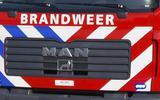 Meerdere eenheden van de brandweer kwamen ter plaatse.