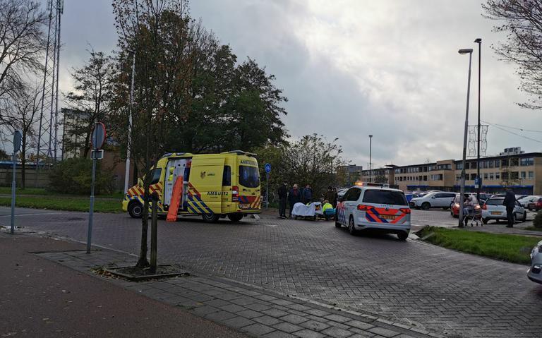 Bromfietser gewond bij aanrijding in Leeuwarden.
