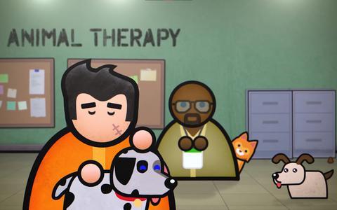 Helpt therapie met dieren veroordeelden het goede pad weer op? Prison Architect: Second Chances doet een poging.