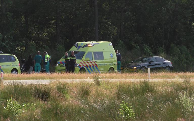 Motorrijder gewond bij ongeval op N381.