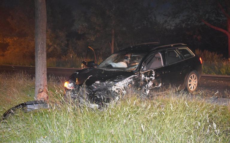 Bestuurder gewond bij eenzijdig ongeval op N353.