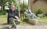 """Kees Lesuis en Sabine Pater, van het creatieve team van Oerol. ,,We verwachten niet dat je het helemaal gaat zien."""" FOTO NEEKE SMIT"""