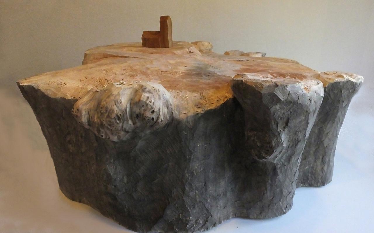 Dik Bruinis - Terpenlandschap 1 - n.a.v. terp Jouswier