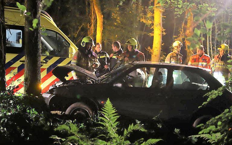 Bestuurder gewond bij eenzijdig ongeval Beetsterzwaag.
