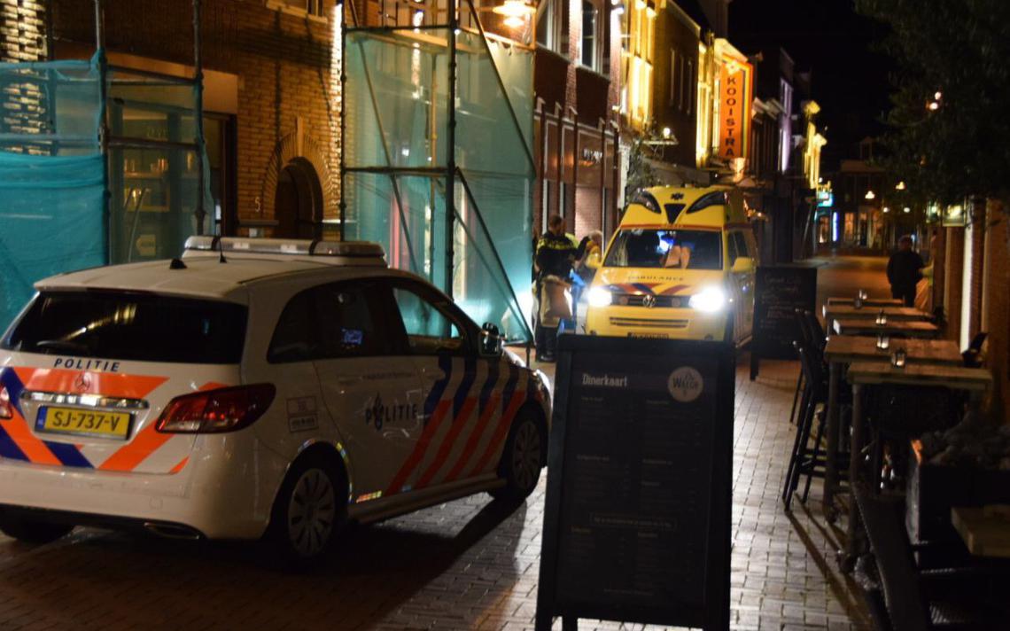 Drie aanhoudingen naar aanleiding van steekincident Dokkum - Leeuwarder Courant