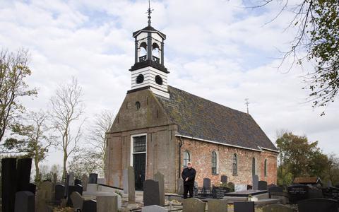 De hervormde kerk in Aalsum.