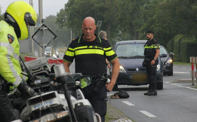 Fietser gewond bij aanrijding met auto op N361 bij Ryptsjerk.