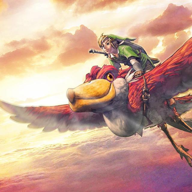 Beeld uit The Legend of Zelda: Skyward Sword HD.