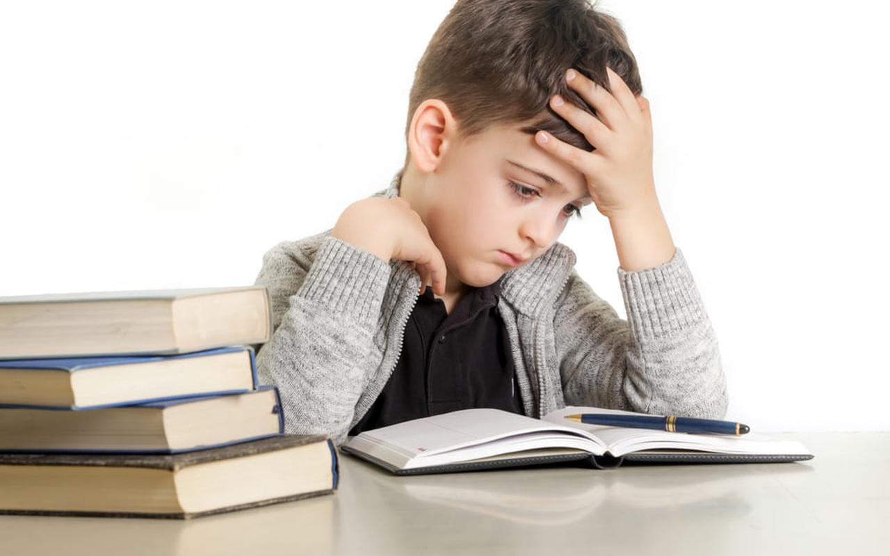 Kind aan het lezen