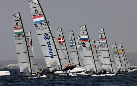 Zeilster Laila van der Meer kan zich richten op de Spelen van Parijs