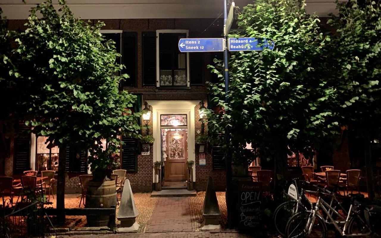 Entree Restaurant Bergsma in Easterein.