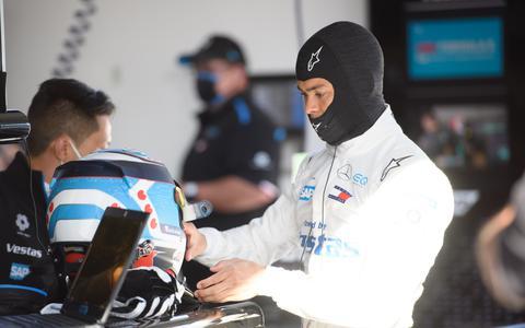 Nyck de Vries achtste in Formule E-kwalificatie Rome