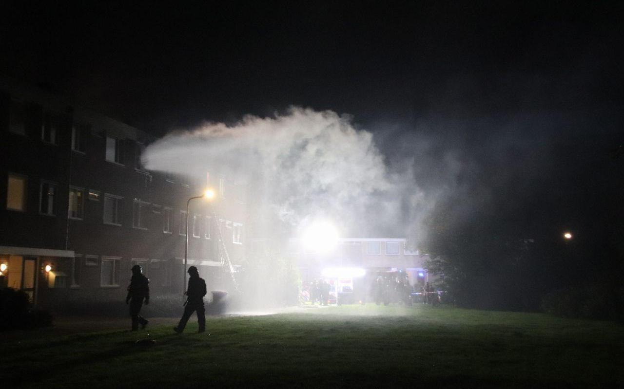De brand aan de Rijperahemstraat in Sneek.