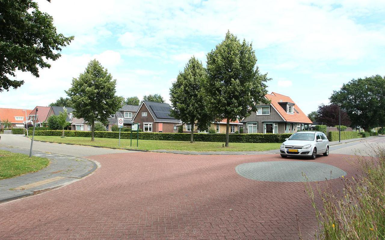De Lycklamaweg in Wolvega.